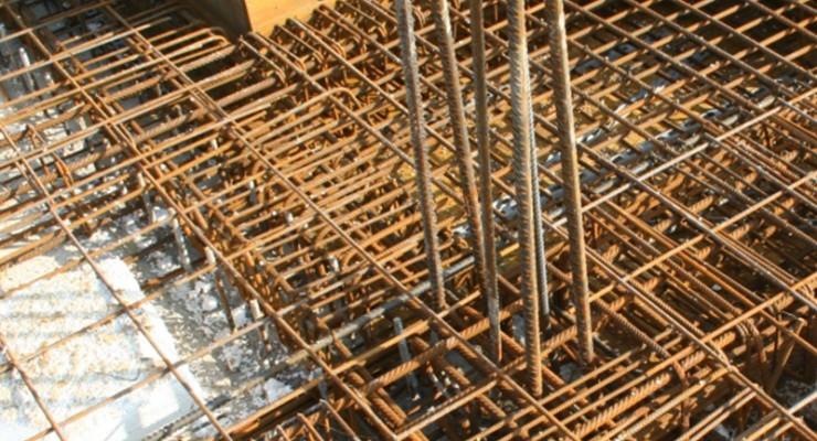 Acciaio per cemento armato lavorato